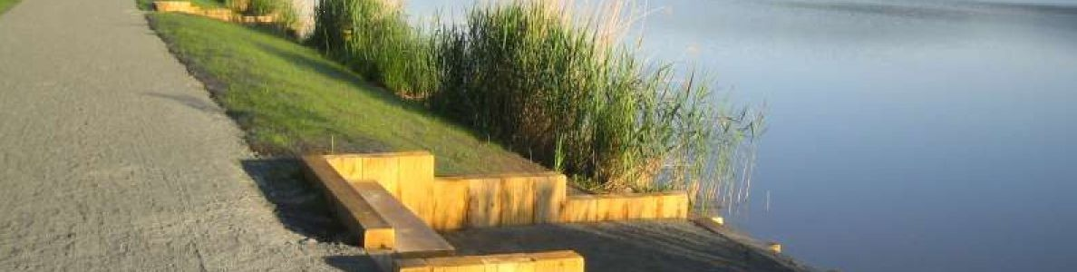 Confortement hydraulique aval et aménagement d'une digue