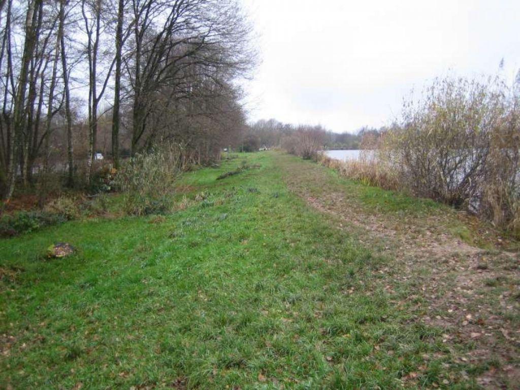 Confortement hydraulique aval et aménagement de la digue de l'étang de la Véronne.