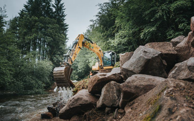 Entretien cours d'eau Alsace Grand Est