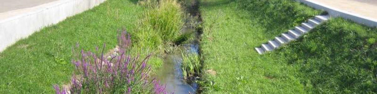 Réaménagement d'un cours d'eau à Herrlisheim