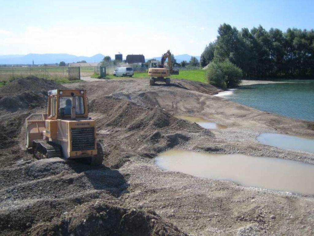 Renaturation de la gravière communale de Baldenheim